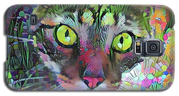 Posie The Tabby Cat Galaxy S5 Case