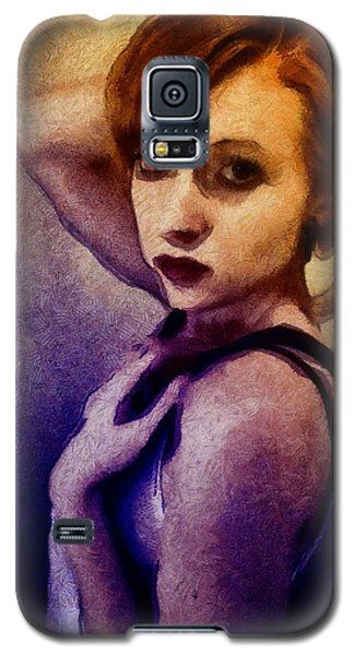 Galaxy S5 Case featuring the digital art Posing For You by Gun Legler