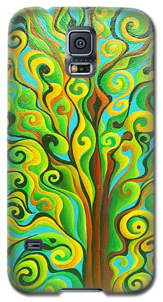 Positronic Spirit Tree Galaxy S5 Case