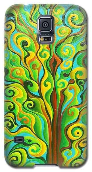 Positronic Spirit Tree Galaxy S5 Case