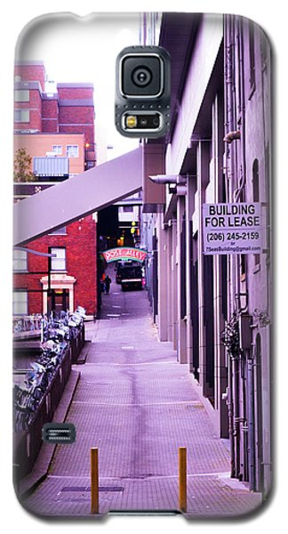 Post Alley, Seattle Galaxy S5 Case