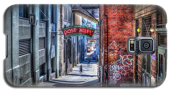 Galaxy S5 Case featuring the photograph Post Alley Straggler by Spencer McDonald