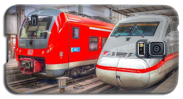 Post-modern Trains Galaxy S5 Case