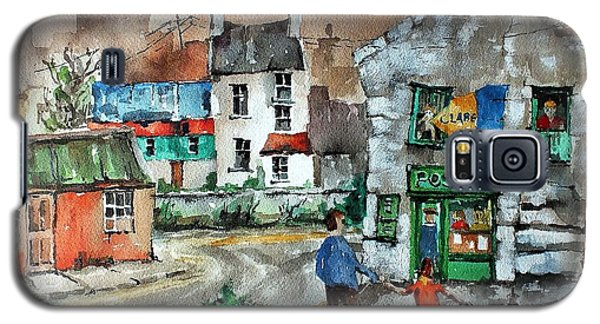 Post Office Mural In Ennistymon Clare Galaxy S5 Case