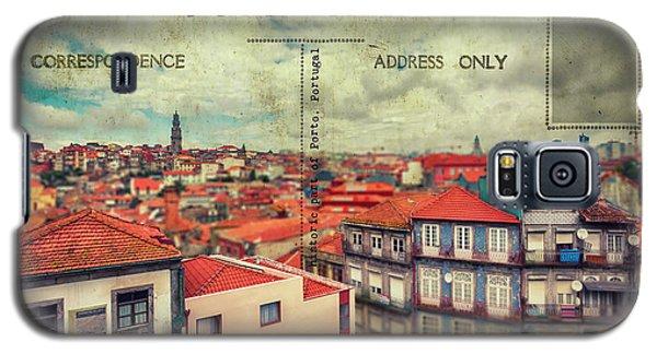 postcard of Porto Galaxy S5 Case