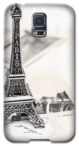 Postcards And Letters From Paris Galaxy S5 Case