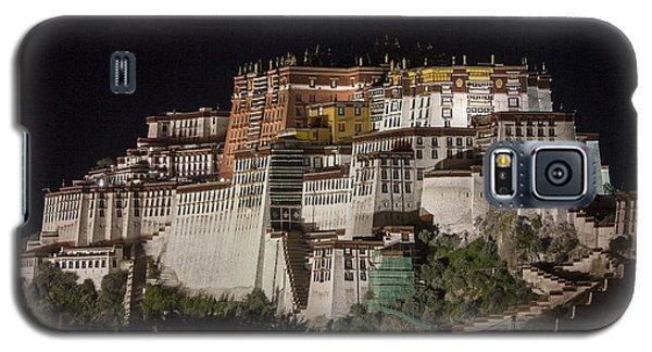 Potala Palace At Night Galaxy S5 Case