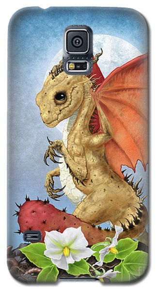 Galaxy S5 Case featuring the digital art Potato Dragon by Stanley Morrison