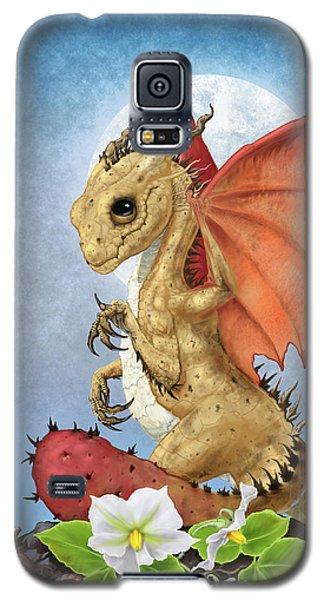 Potato Dragon Galaxy S5 Case by Stanley Morrison