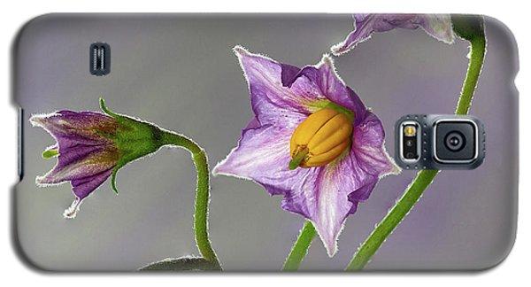 Potato Flowers Galaxy S5 Case