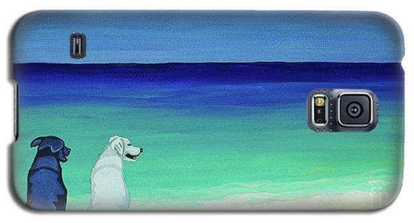 Lab Potcake Dogs On The Beach Galaxy S5 Case