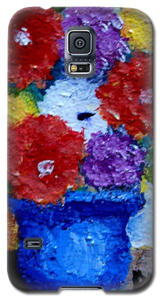 Potted Flowers Galaxy S5 Case