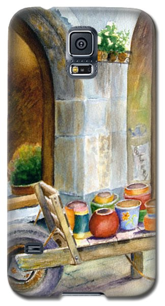 Pottery Cart Galaxy S5 Case