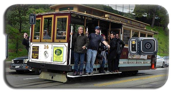 Powell And Market Street Trolley Galaxy S5 Case by Steven Spak