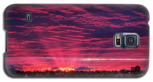 Powell Butte Oregon Sunset Galaxy S5 Case