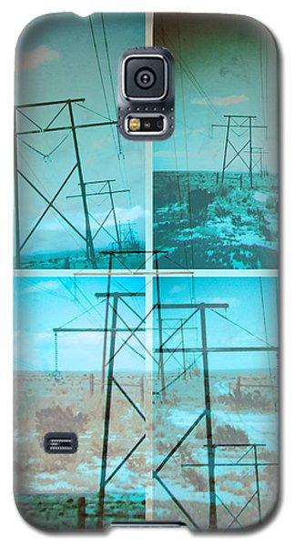 Galaxy S5 Case featuring the digital art Power Line Patriots by Bartz Johnson