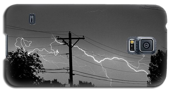 Power Lines Bw Fine Art Photo Print Galaxy S5 Case by James BO  Insogna