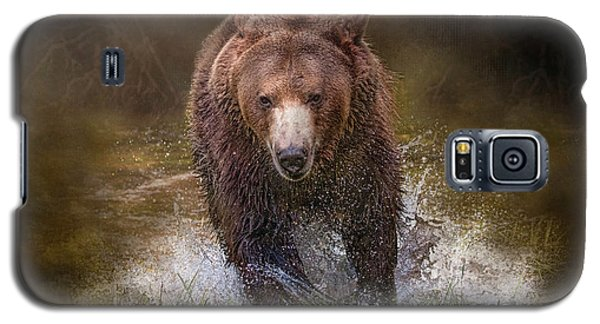 Power Of The Grizzly Galaxy S5 Case