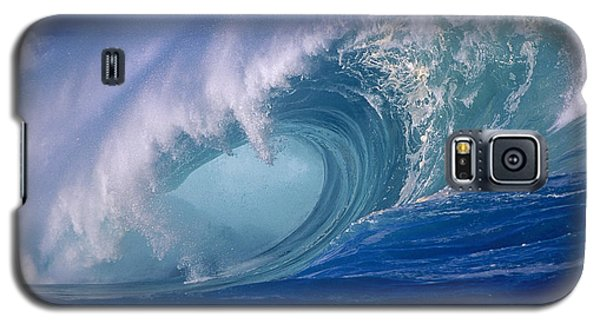 Powerful Surf Galaxy S5 Case by Ron Dahlquist - Printscapes