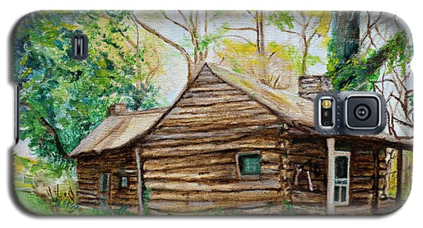 Antique Old Cabin Galaxy S5 Case