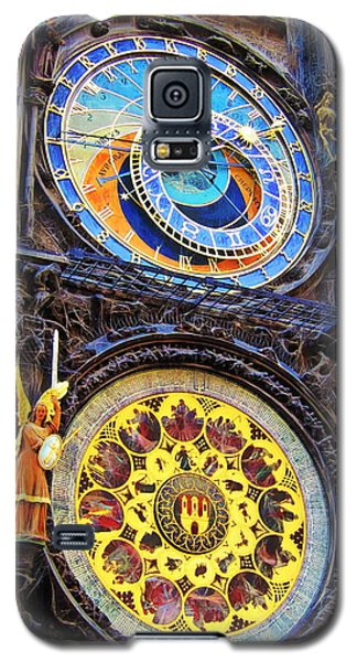 Prague Astronomical Clock Galaxy S5 Case