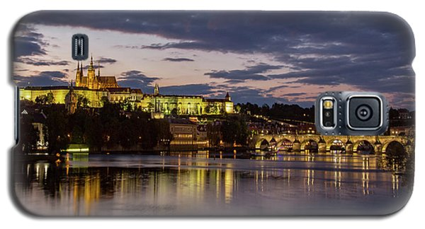 Galaxy S5 Case featuring the photograph Prague Castle, Night View by Yelena Rozov