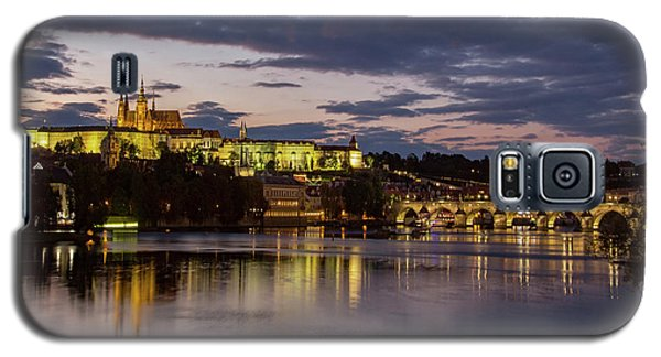 Prague Castle, Night View Galaxy S5 Case