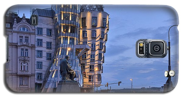 Galaxy S5 Case featuring the photograph Prague Dancing House by Marek Stepan