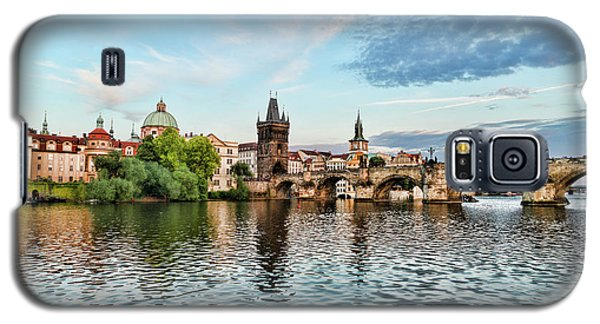 Prague From The River Galaxy S5 Case