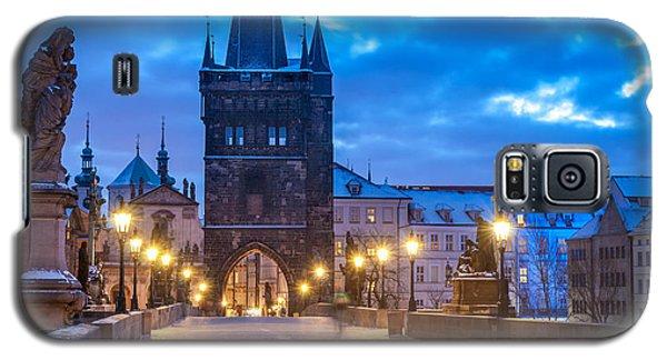 Prague In Blue Galaxy S5 Case