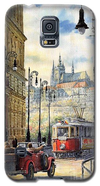 City Scenes Galaxy S5 Case - Prague Kaprova Street by Yuriy Shevchuk
