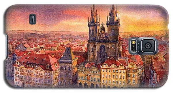 Town Galaxy S5 Case - Prague Old Town Square 02 by Yuriy Shevchuk