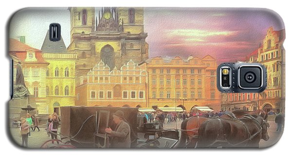 Prague Old Town Square Galaxy S5 Case