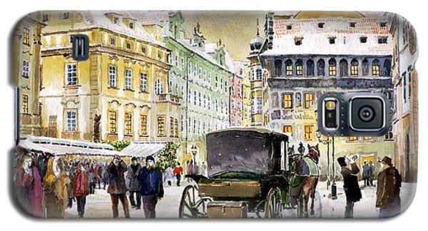 Town Galaxy S5 Case - Prague Old Town Square Winter by Yuriy Shevchuk
