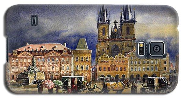 Town Galaxy S5 Case - Prague Old Town Squere After Rain by Yuriy Shevchuk
