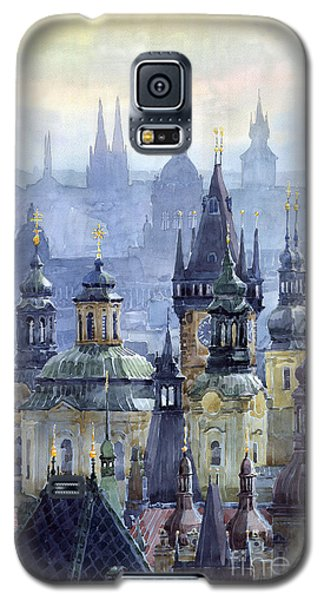 City Scenes Galaxy S5 Case - Prague Towers by Yuriy Shevchuk