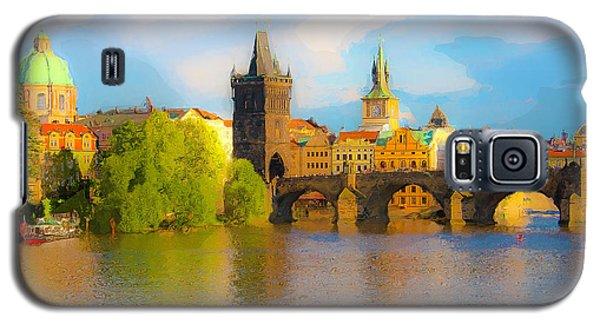 Praha - Prague - Illusions Galaxy S5 Case by Tom Cameron