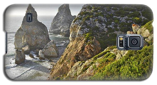 Galaxy S5 Case featuring the photograph Praia Da Ursa Portugal by Marek Stepan