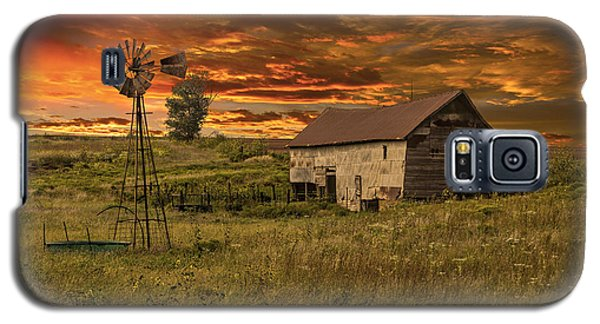 Prairie Barn Galaxy S5 Case