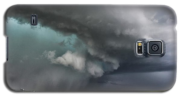 Galaxy S5 Case featuring the photograph Prairie Beast by Ryan Crouse
