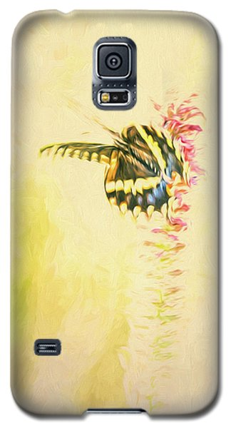 Prairie Butterfly 3 Galaxy S5 Case