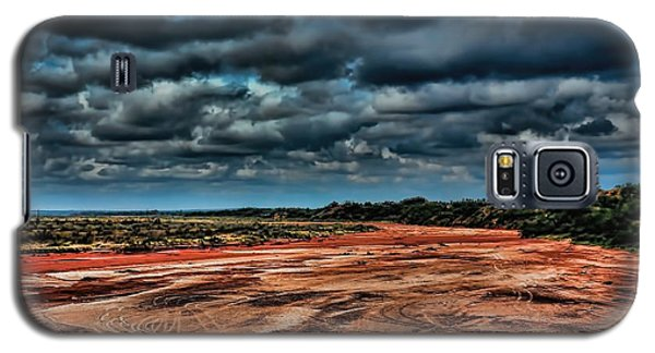 Prairie Dog Town Fork Red River Galaxy S5 Case by Diana Mary Sharpton
