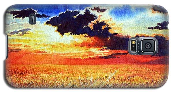 Prairie Gold Galaxy S5 Case
