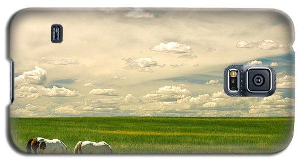 Prairie Horses Galaxy S5 Case