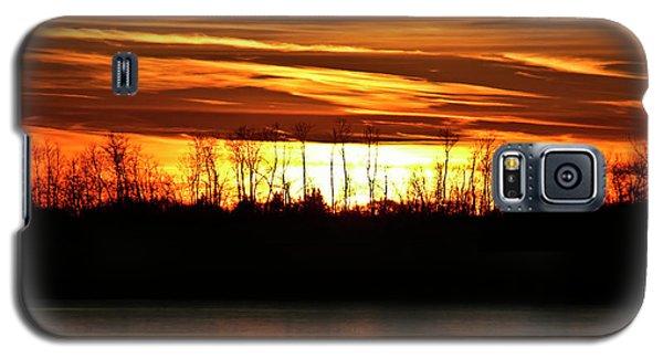 Prairie Sunset Galaxy S5 Case