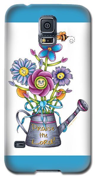 Praise The Lord Galaxy S5 Case by Tracy Campbell