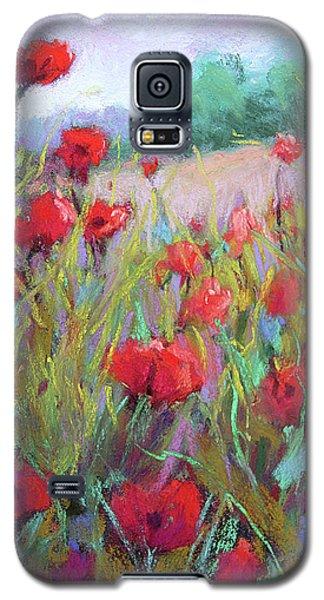 Praising Poppies Galaxy S5 Case