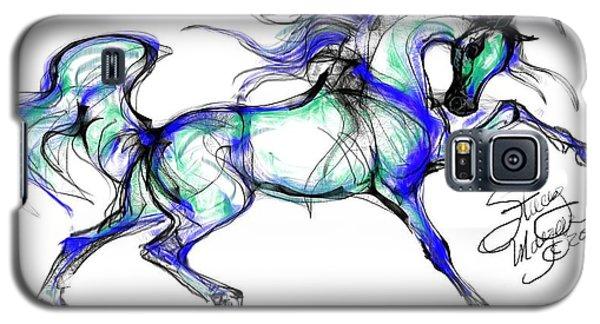 Prancing Arabian Horse Galaxy S5 Case