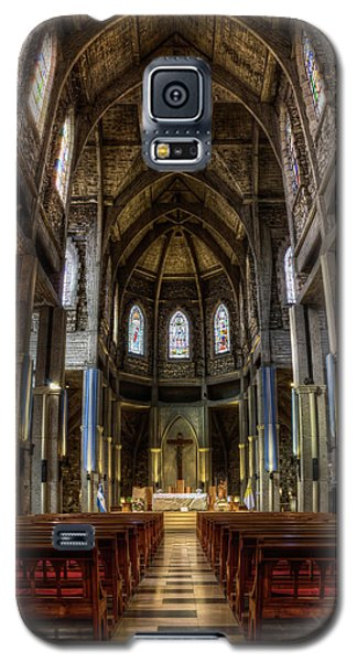 Our Lady Of Nahuel Huapi Cathedral In The Argentine Patagonia Galaxy S5 Case