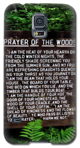 Prayer Of The Woods Galaxy S5 Case